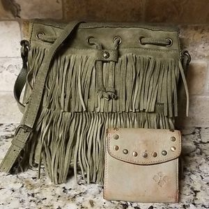 *UPDATED Patricia Nash Fringe Crossbody & Wallet